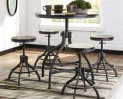 dining room furniture - Odium Counter Height Dining Room Table and Bar Stools