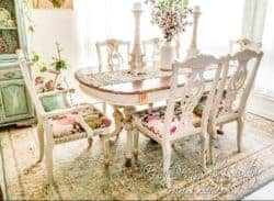 dining room furniture - Spring Garden Victorian Dining Table