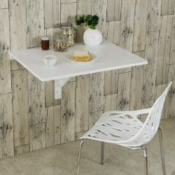 dining room furniture - Wall-Mounted Drop-Leaf Table Folding Kitchen Dining Table