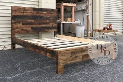 pallet furniture ideas - King Bed Frame, Pallet Bed