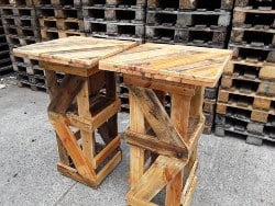 pallet furniture ideas - Standing table