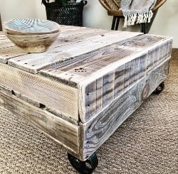 pallet furniture ideas - TOPO coffee table