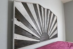 pallet furniture ideas - winter sun, rustic headboard