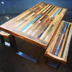 Wood Outdoor Table