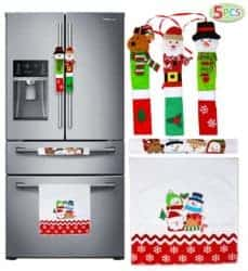 Christmas Kitchen Appliance Handle Covers
