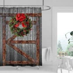 christmas decoration - Christmas Shower Curtain Set