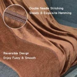 christmas decoration - Fleece Throw Blanket for Couch