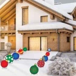 christmas decoration - Giant Ornament Pathway Markers