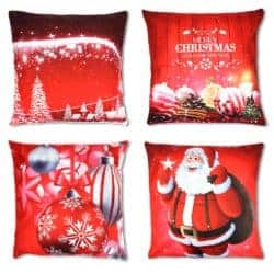 christmas decoration - Merry Christmas Pillow Covers 4 Pack