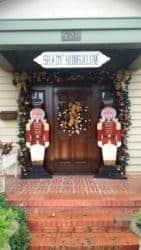 christmas decoration - Nutcracker soldier handpainted