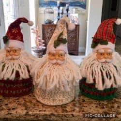 christmas decoration - Old World Santa Claus Toilet Paper Cover