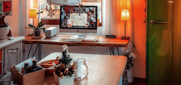 minimalist Christmas décor ideas