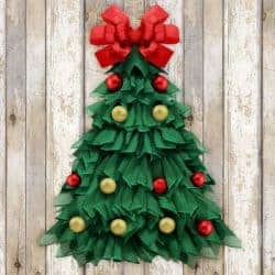outdoor christmas decoration - 24 Inch Christmas Tree Wreath