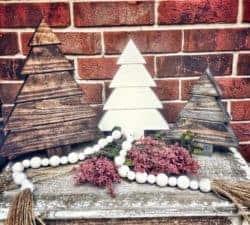 outdoor christmas decoration - Christmas Tree Set of 3