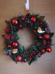 outdoor christmas decoration - Christmas Wreath