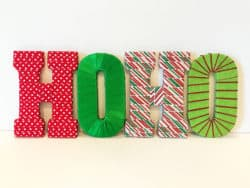 outdoor christmas decoration - HOHO Wall Letter