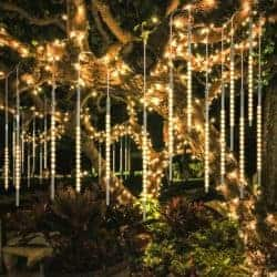 outdoor christmas decoration - LED Meteor Shower Rain Lights