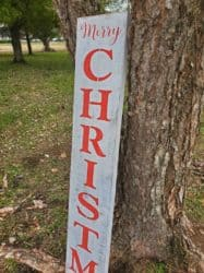 outdoor christmas decoration - Merry Christmas Porch Sign