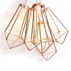 Modern Geometric String Lights