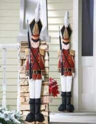 outdoor christmas decoration - Nutcracker Wall Hanging Decoration
