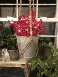 outdoor christmas decoration - Plant Hanger Farmhouse Decor
