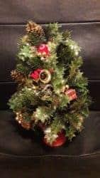 outdoor christmas decoration - Plastic Christmas Tree Wall Decor