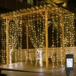 outdoor christmas decoration - Plug-In Fairy String Lights