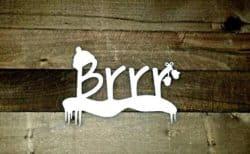 Winter Brrr Sign