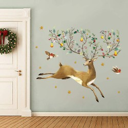 28. Colorful Reindeer Wall Stickers (1)