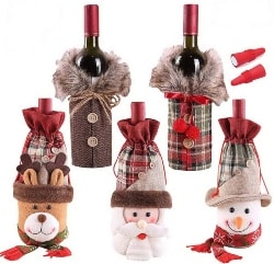 Christmas Wine Bottle Covers (1)