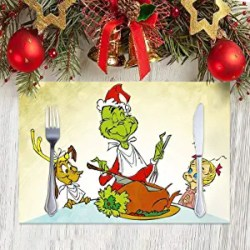Grinch Christmas Placemat
