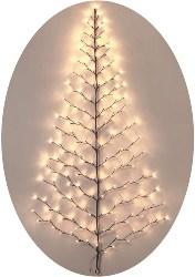 Lighted Christmas Wall Tree (1)