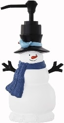 Snowman Soap Dispenser (1)