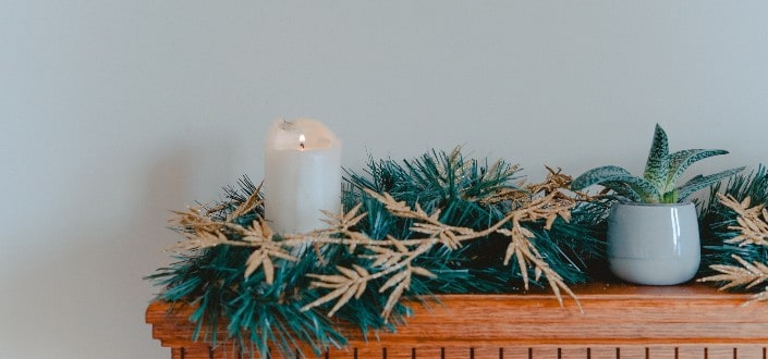 farmhouse christmas decor - #3_ Focus on one pattern or material
