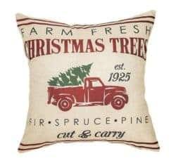 farmhouse christmas decor - Farmhouse Christmas Pillow Cover