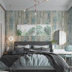 farmhouse christmas decor - Self-adhesive Wood Wallpaper