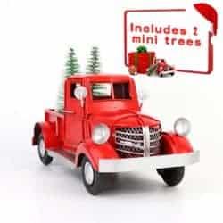 farmhouse christmas decor - Vintage Christmas Truck