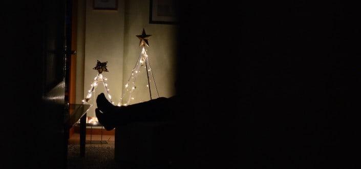 farmhouse christmas decor - minimalist farmhouse Christmas décor ideas