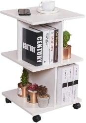 69. Modern Side Table with Storage Shelf (1)