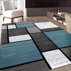 Best Modern Furniture Ideas - Contemporary Modern Boxes Area Rug (1)