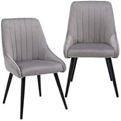 Best Modern Furniture Ideas - Gray Leather Contemporary Living Room Chairs (1)