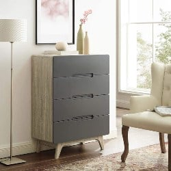 Best Modern Furniture Ideas - Modern 4-Drawer Bedroom Chest