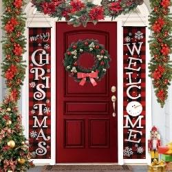 Buffalo Plaid Christmas Banner (1)