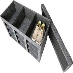 Cheap Modern Furniture Ideas - Foldable Tufted Shoe Storage Ottoman (1)