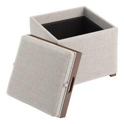 Cheap Modern Furniture Ideas - Square Ryan Modular Storage Ottoman With Tray Top (1)