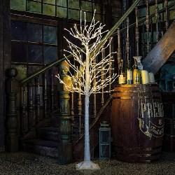 LED Lighted Birch Tree (1)