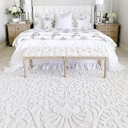 Modern Bedroom Furniture - My Texas House Bluebonnets Area Rug (1)
