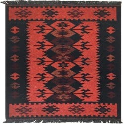 Modern Bohemian Furniture - Turkish Kilim Rug (1)