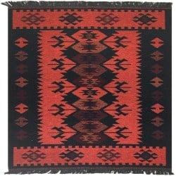 Modern Bohemian Furniture - Turkish Kilim Rug (1)