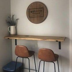 Modern Dining room furniture - Modern Floating loft Bar table (1)